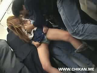 innocent chick groped and used in a train