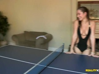 Celeste Star And Friends Play Sex Game Sex Game Table Tennis Naked!