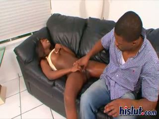 This African hottie likes to be pounded hard