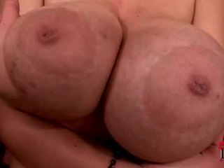 Massive Boobed Terry Nova Acquires Her Flesh Pillows Creamed