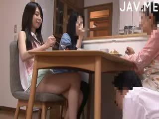 japanilainen kuuma, todellinen cumshot suuri, katsella perse nähdä