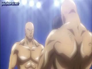 Animated fighter gets fitte licked