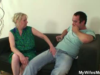 Titi hungry mother-in-law seduces him