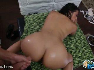 Eat Sleep Porn: Adrianna Luna's juicy bubble butt at work