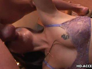 heetste brunette seks, mooi deepthroat vid, kokhalzen gepost