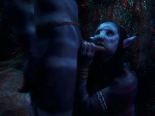 Avatar 3d ポルノスター クソ で ザ· woods