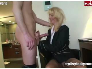 oma mov, meest drietal seks, meer mama