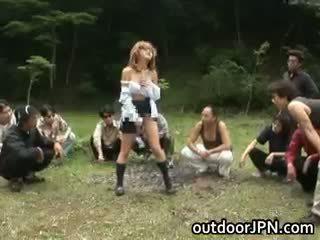 vroče japonski glej, glej group sex, koli interracial več