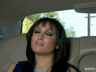 Gabriella fucked uz the limo video