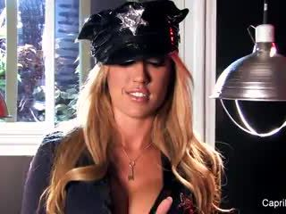 Capri Cavalli - Capri Cavanni The Hardcore Cop