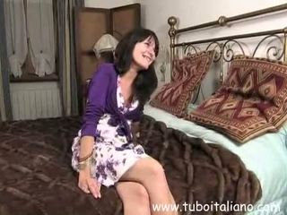 real casting, wife, italian clip