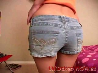 Unlocked Profiles: Sizzling exgirlfriend cutie Addison showing her ass
