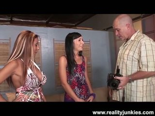 Lex Steele Drills Remy LaCroix Around Nice Darky Private Action