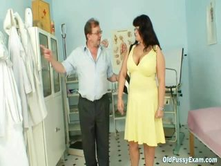 Mature Daniela Has Her Massive Mambos Checked By Gyno Doctor
