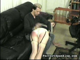 Body with overkneespanking miss