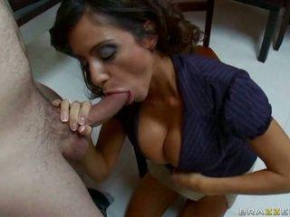 ideaal brunette, groot hardcore sex thumbnail, nieuw pijpen neuken