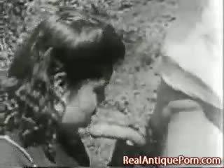 1915 louca antigo ao ar livre porno!