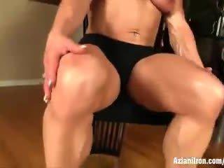 Buff matura female bodybuilder wanda moore