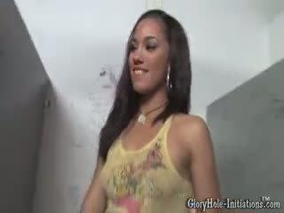 Alicia tease gloryholes
