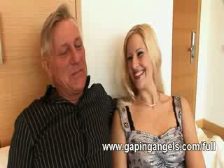 ass gaping chick screws