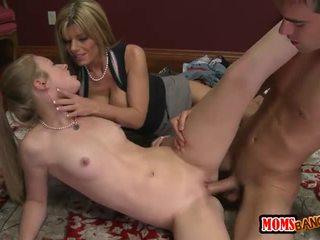 hardcore sex, ideal milf sex, new ffm
