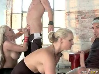 Phoenix Marie And Sadie Swede Sock And Stroke Hard Rods