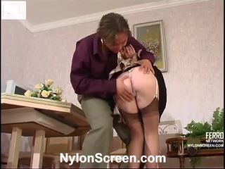 Nellie And Morris Pantyhose Fucking Film