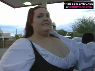 Wow buta bokong gunging éndah wadon red head fucks her burungpun lemu susu part 1