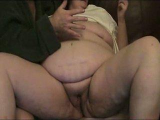 oma, vet porno, zien fisting scène