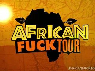 Small tits african bitch sucks and fucks white boyfriend