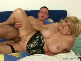 Best of Lusty Grandmas in this compilation