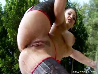 Dívka getting ji velký prdel fucked