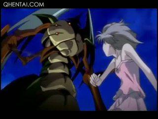 Hentai Muschi lecken Monster