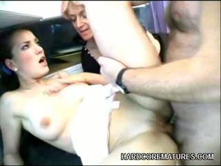 schön hardcore sex, große schwänze, qualität anal sex sie