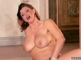 Busty Brunette Sara Stone Playinh Hawt And Wishes For The Perfect Orgasm