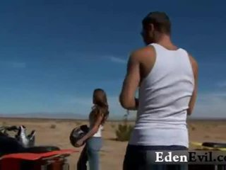 Madelyn marie out in the country threesome