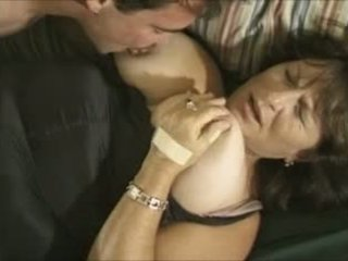 Busty mature MILF gets horny for cock Video