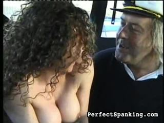 caning, spanking, whipping, sluts on a plane