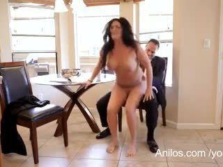Mature wife craves a mouthful of cum
