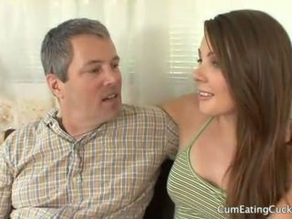 watch cuckold vid, most pussy fucking video, you blowjob action