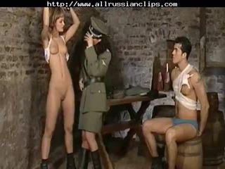 Dominant russians 虐待 prisoners ロシア cumshots 飲み込む