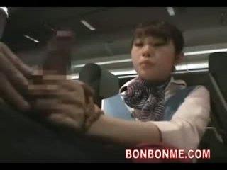 uniform seks, aziatisch thumbnail, plezier air hostesses gepost
