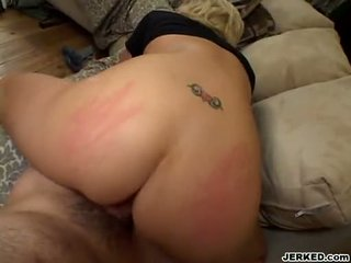 Tiffany Price Recieves A Warm Load Of Cum On That Boyr Mouth