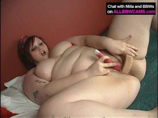 CHUBBY Girl Does It Xmass Way BBW 2