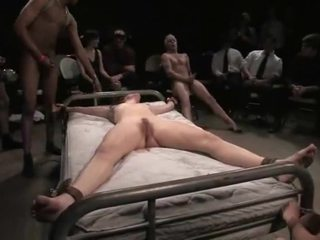 Bondaged Babe Gets Abused