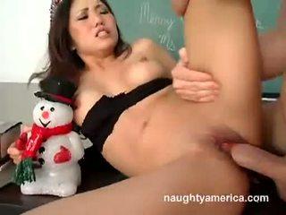 Kaiya Lynn Getting Screwed On Her Pussy By A Hard Meat Shaft