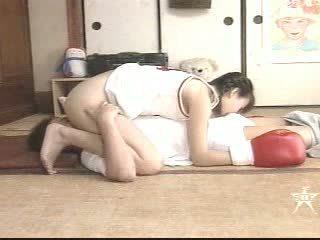 Japanes איגרוף נערה הארדקור מזוין וידאו