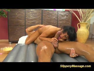 masseuse porn, rated massage tube, oiled sex