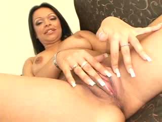 Busty babe gets double penetrated