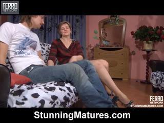 Leonora And Robin Kinky Mature Movie